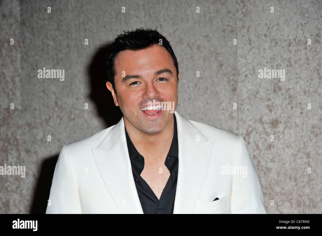 Seth MacFarlane at arrivals for HBO Post-Emmy Party, The Plaza at the Pacific Design Center, Los Angeles, CA August - Stock Image