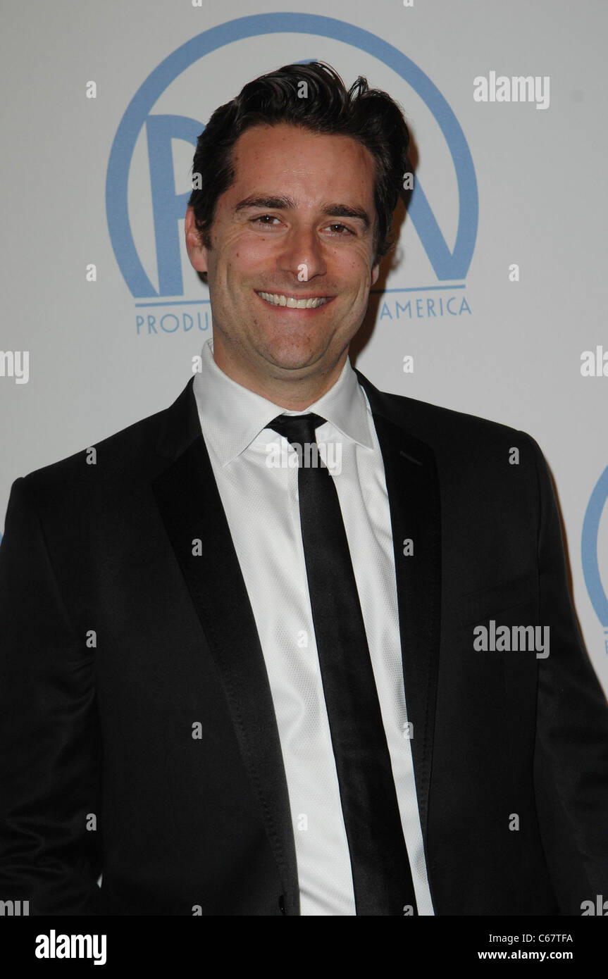 Todd Lieberman in attendance for 22nd Annual Producers Guild of America PGA Awards, Beverly Hilton Hotel, Beverly - Stock Image