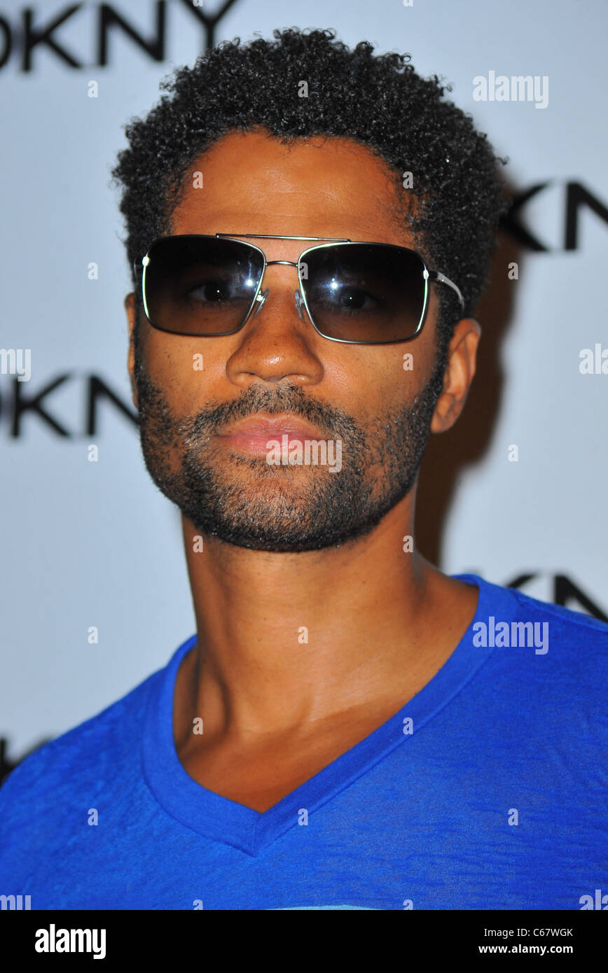 Eric Benét at arrivals for DKNY Sunglass Soiree at The Beach, Dream Downtown, New York, NY July 26, 2011. Photo - Stock Image