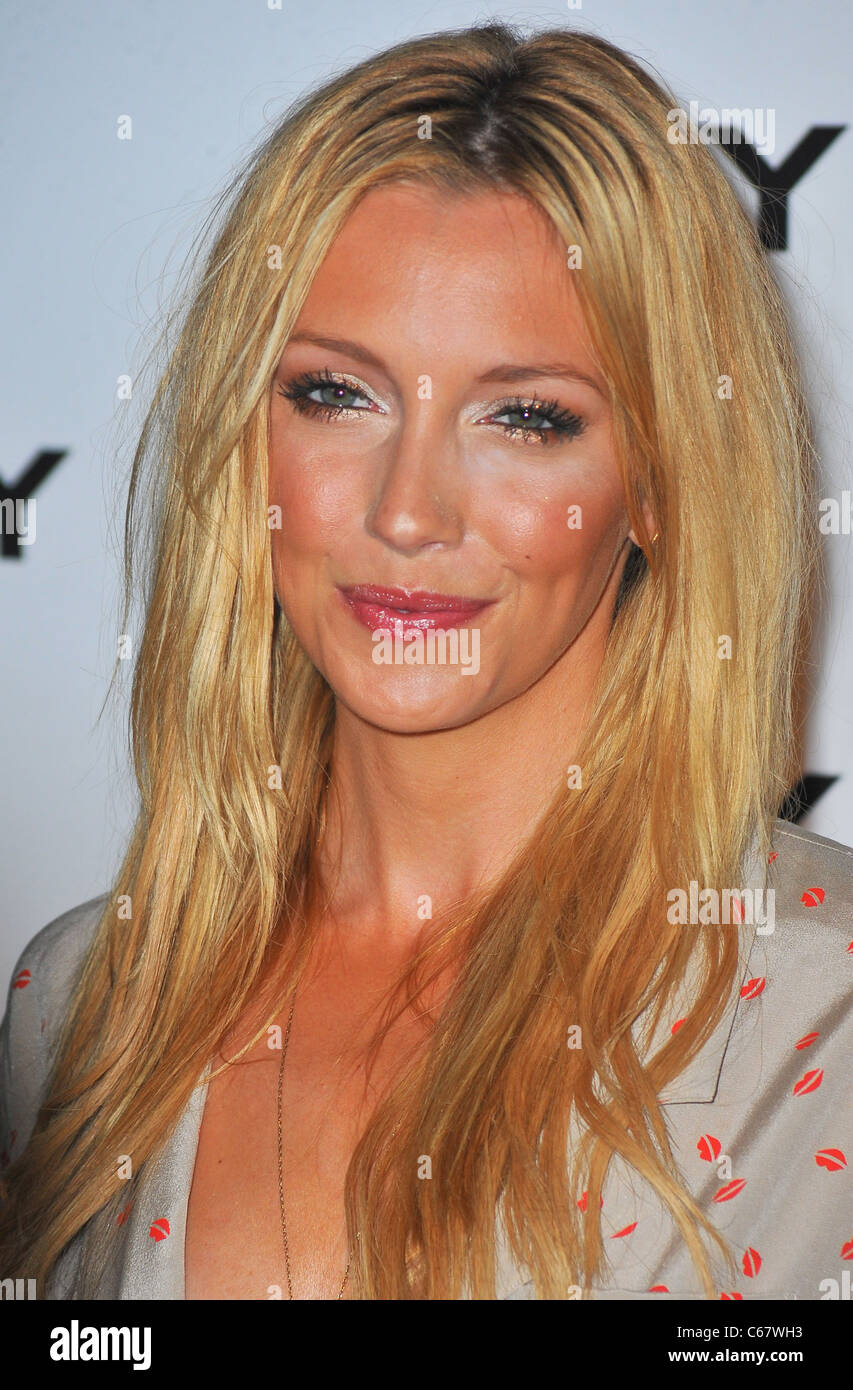 Katie Cassidy at arrivals for DKNY Sunglass Soiree at The Beach, Dream Downtown, New York, NY July 26, 2011. Photo - Stock Image