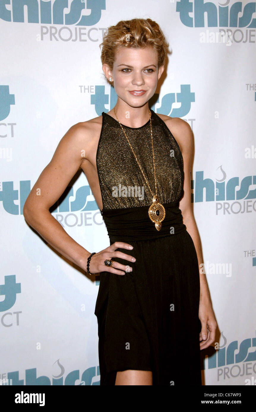 Angel McCord at arrivals for The Inaugural Thirst Project Gala, Casa Del Mar, Los Angeles, CA June 29, 2010. Photo - Stock Image