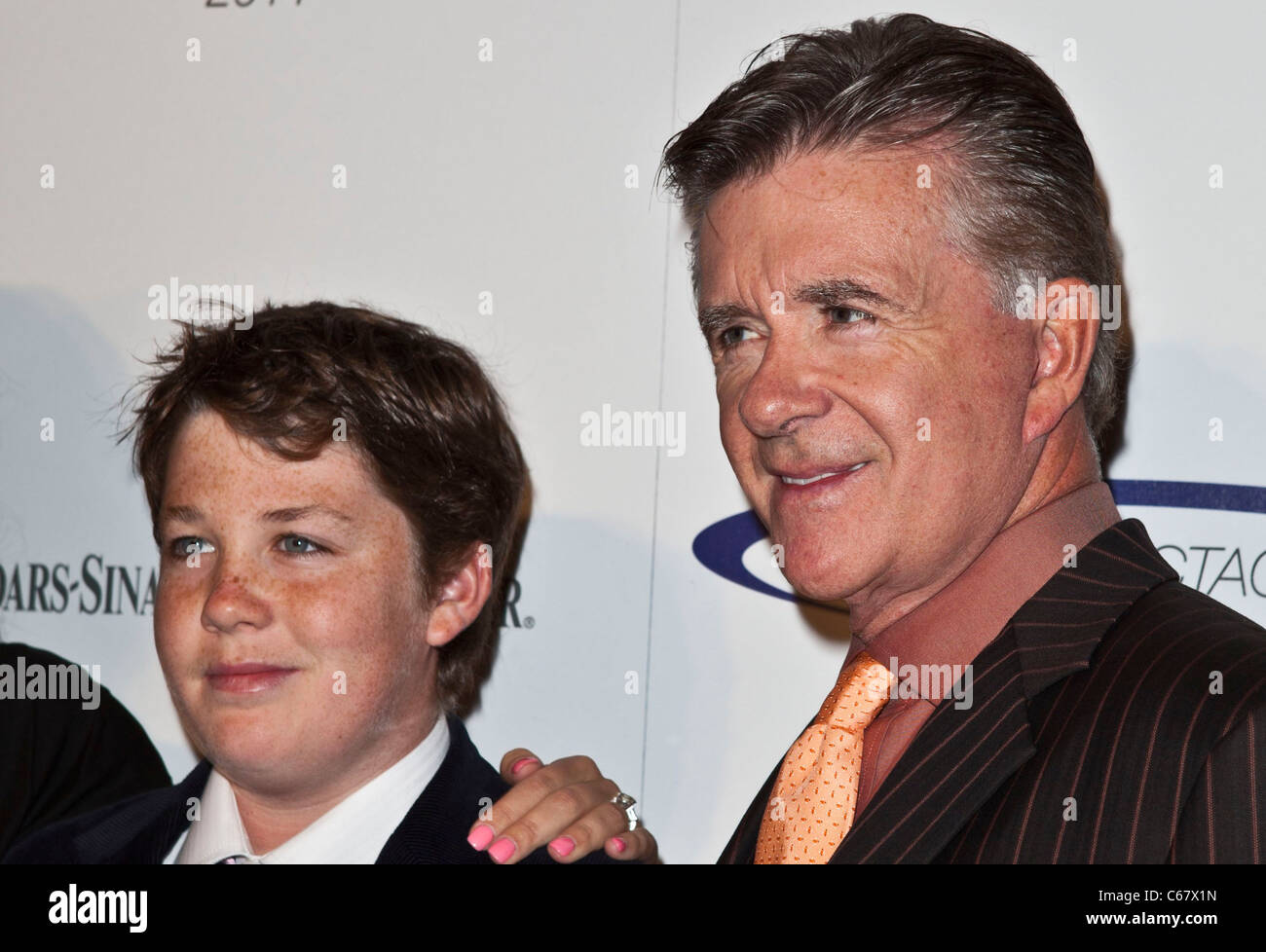 Alan Thicke at arrivals for 26th Anniversary Sports Spectacular, Hyatt Regency Century Plaza Hotel, Los Angeles, - Stock Image