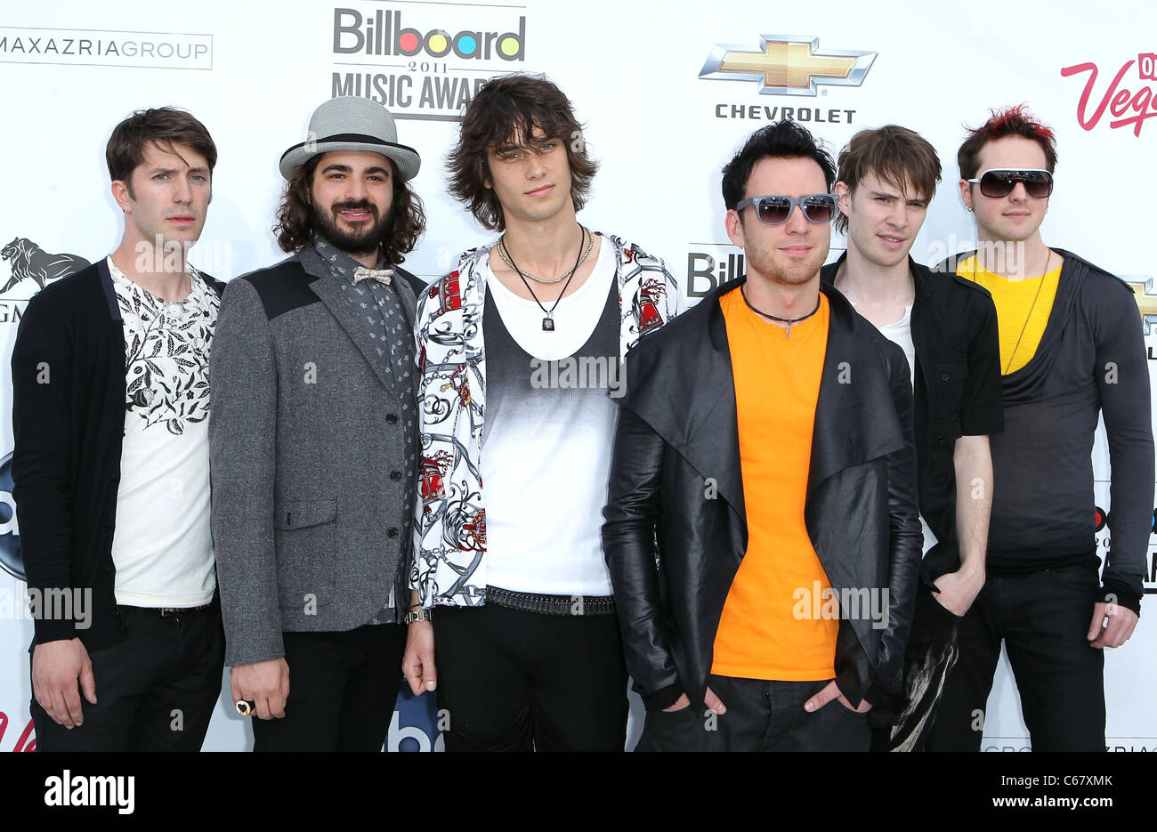 Gentlemen Hall at arrivals for 2011 Billboard Music Awards, MGM Grand Garden Arena, Las Vegas, NV May 22, 2011. - Stock Image