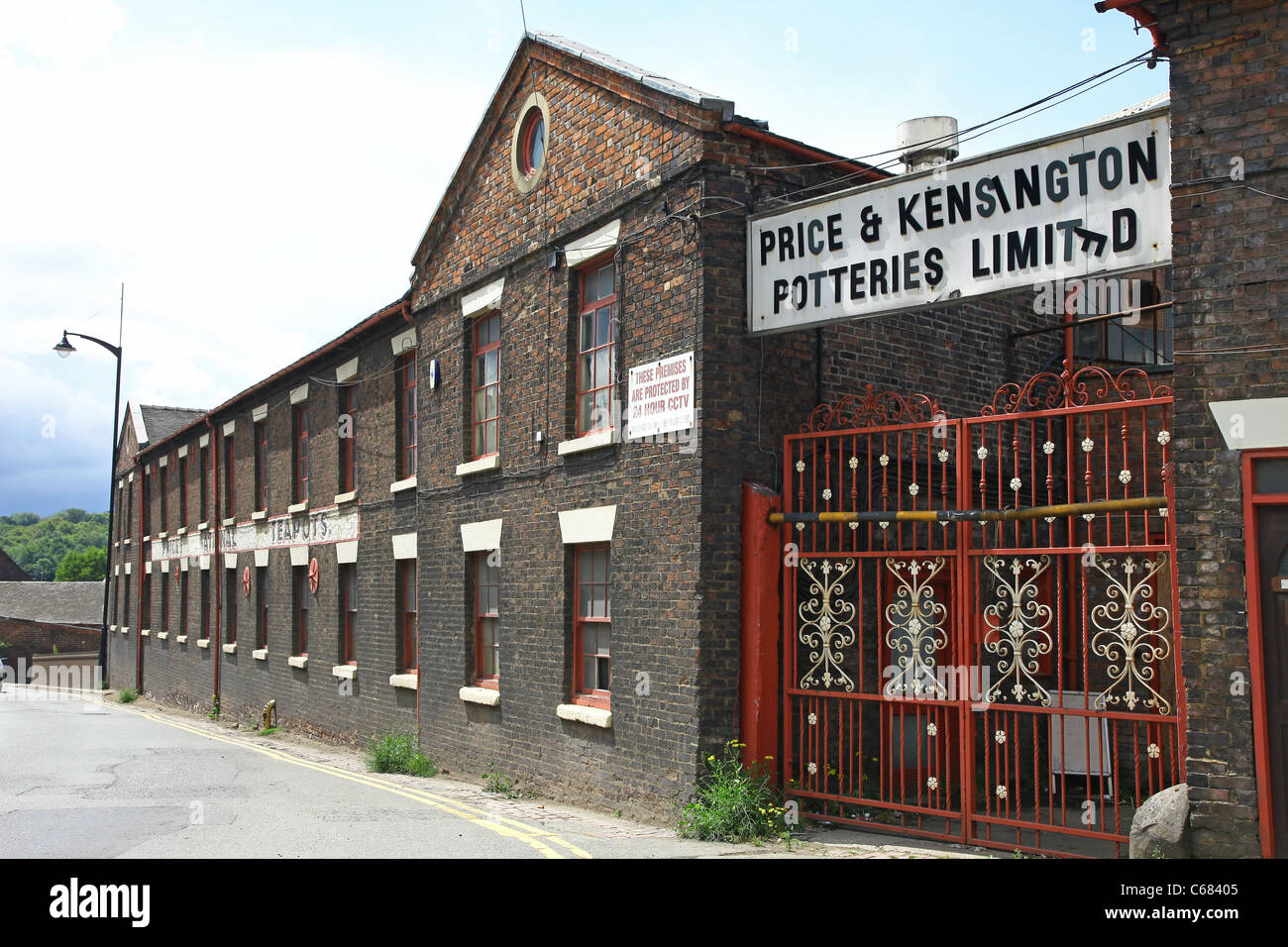 The Price and Kensington pottery works, Longport, Nr Burslem Stock