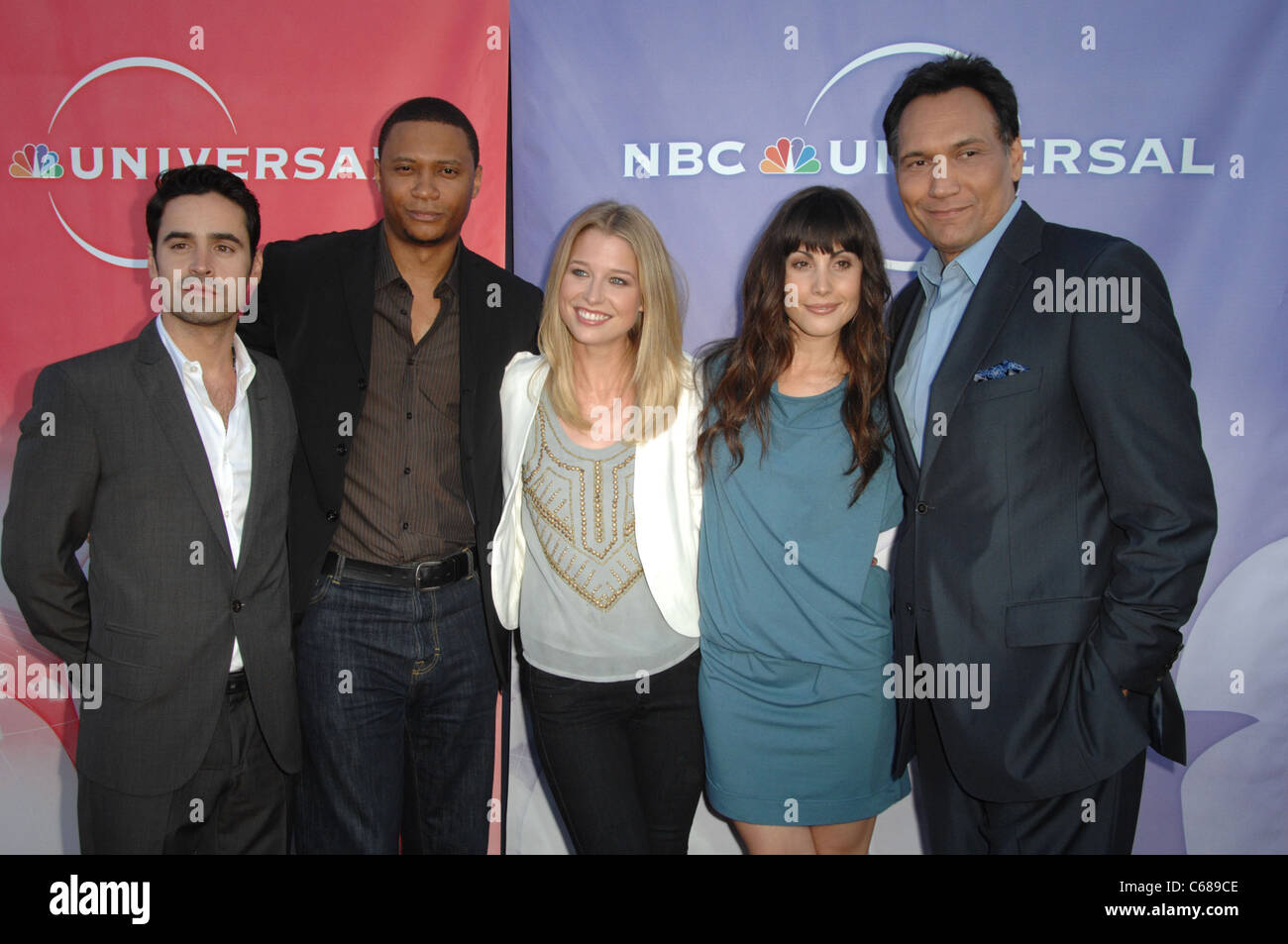 Outlaw Cast at arrivals for NBC Universal TCA Press Tour All-Star Party, Beverly Hilton Hotel, Beverly Hills, CA - Stock Image