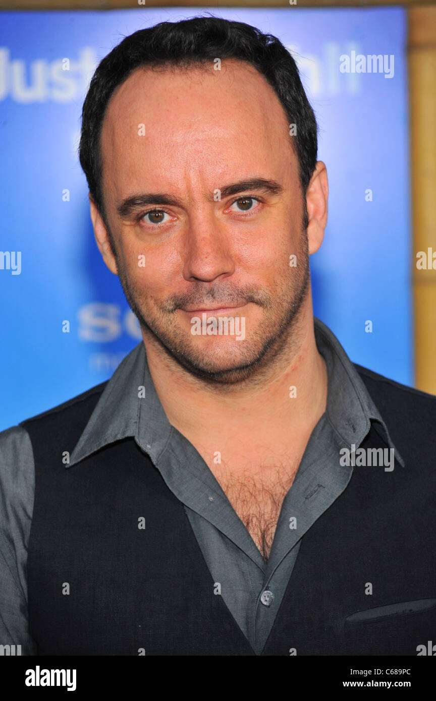 Dave Matthews at arrivals for JUST GO WITH IT Premiere, The Ziegfeld Theatre, New York, NY February 8, 2011. Photo - Stock Image