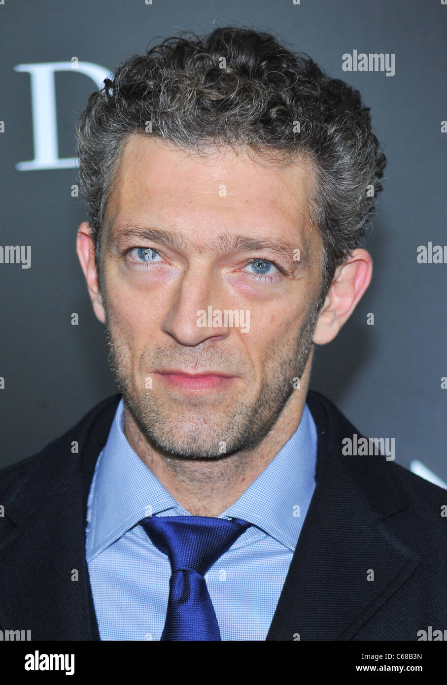 Vincent Cassell at arrivals for BLACK SWAN Premiere, The Ziegfeld Theatre, New York, NY November 30, 2010. Photo - Stock Image