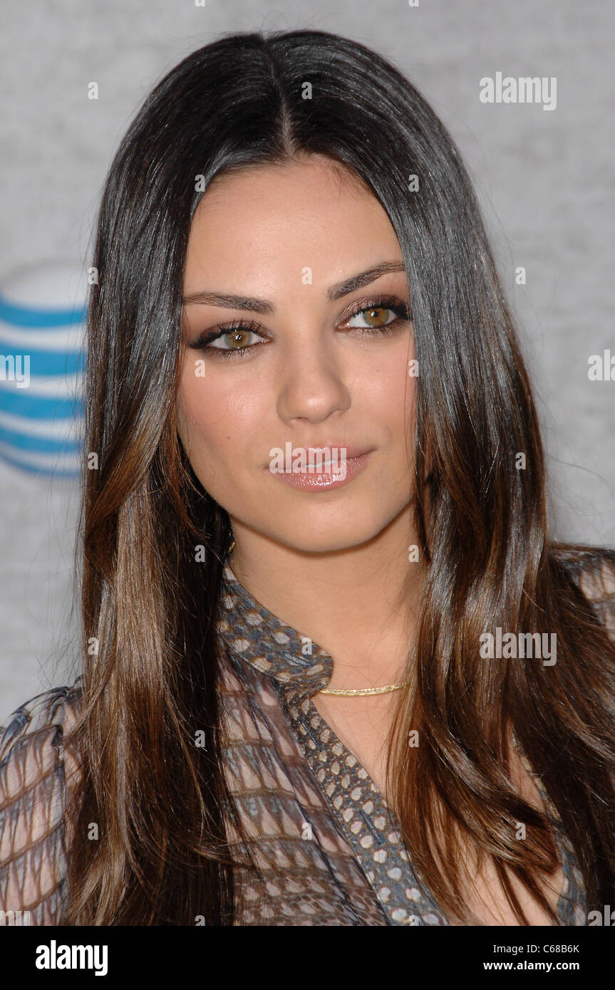 Mila Kunis at arrivals for Spike TV's 5th Annual Guys Choice Celebration, Sony Pictures Studios, Los Angeles, CA Stock Photo