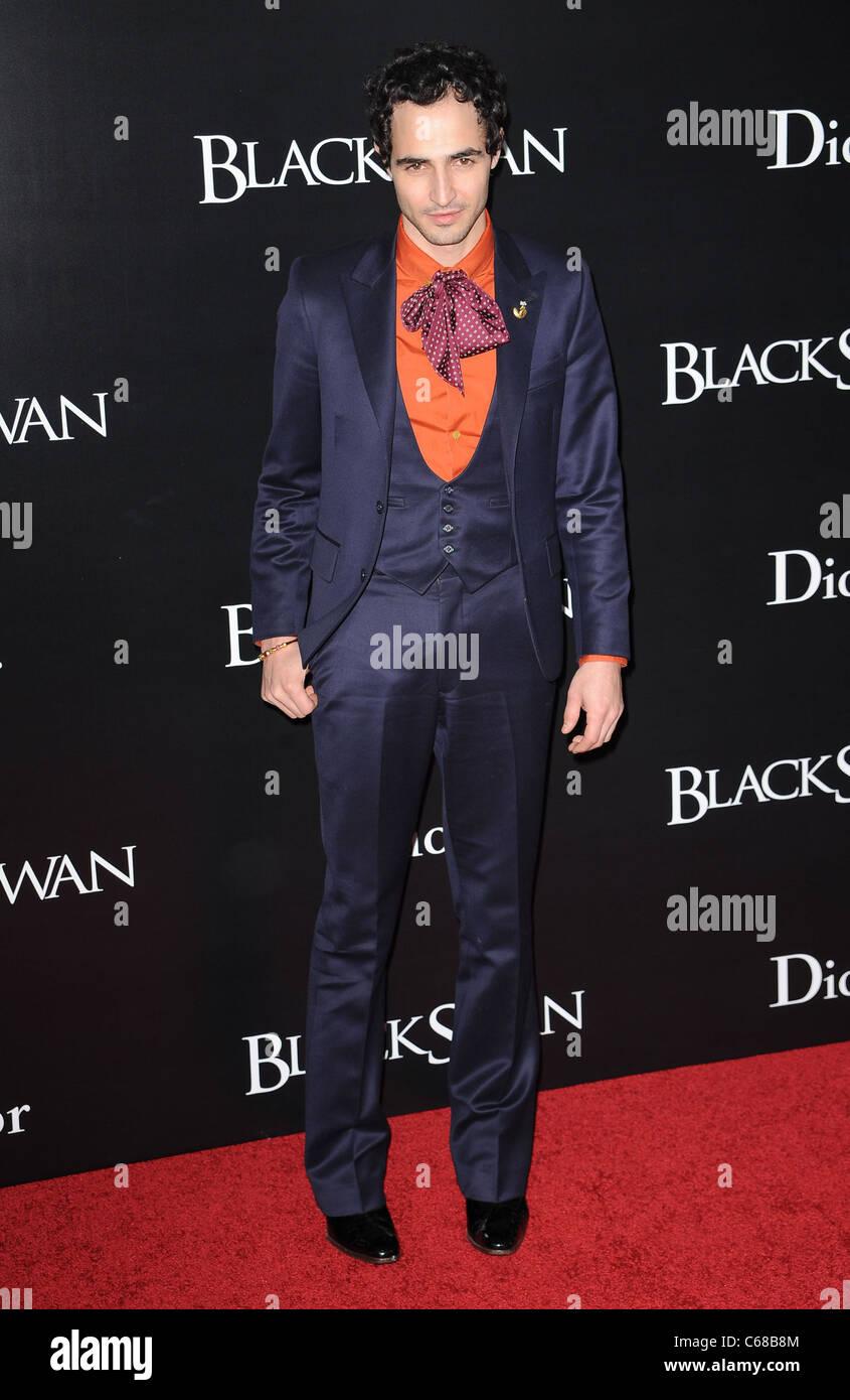 Zac Posen at arrivals for BLACK SWAN Premiere, The Ziegfeld Theatre, New York, NY November 30, 2010. Photo By: Kristin - Stock Image