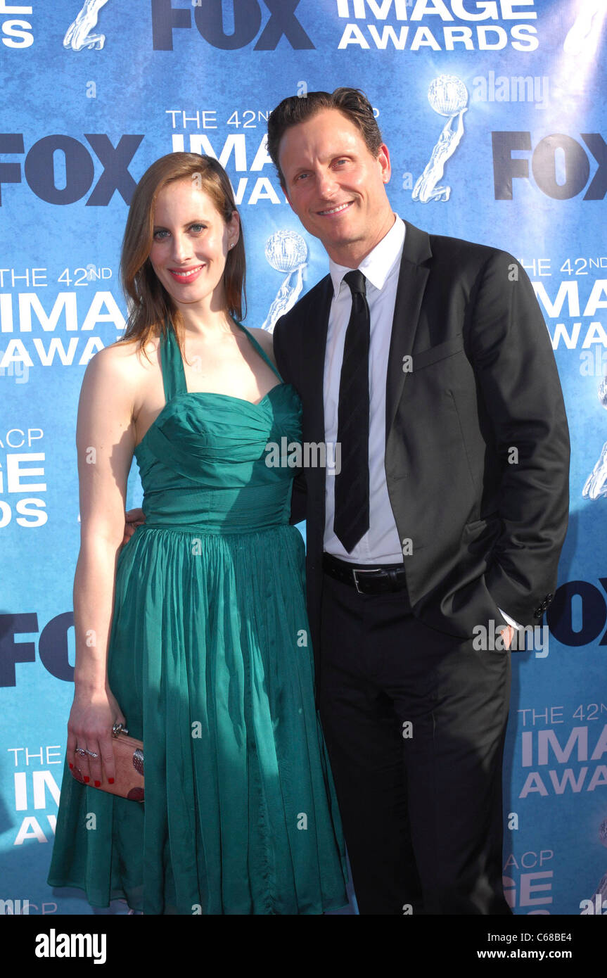 Tony Goldwyn at arrivals for 42nd NAACP Image Awards, Shrine Auditorium, Los Angeles, CA March 4, 2011. Photo By: - Stock Image