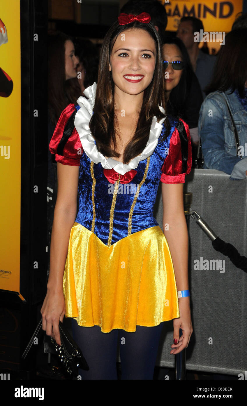 Italia Ricci at arrivals for MEGAMIND Premiere, Grauman's Chinese Theatre, Los Angeles, CA October 30, 2010. Photo Stock Photo