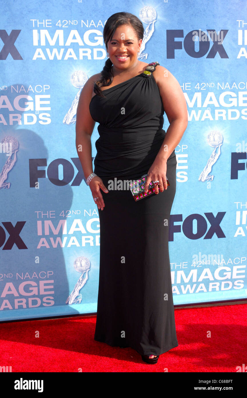 Chandra Wilson at arrivals for 42nd NAACP Image Awards, Shrine Auditorium, Los Angeles, CA March 4, 2011. Photo - Stock Image