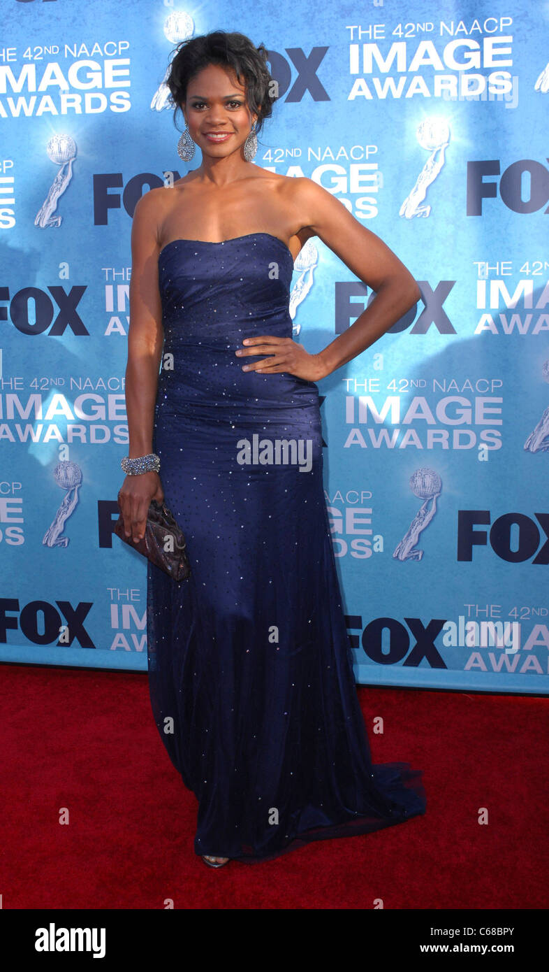 Kimberly Elise at arrivals for 42nd NAACP Image Awards, Shrine Auditorium, Los Angeles, CA March 4, 2011. Photo - Stock Image