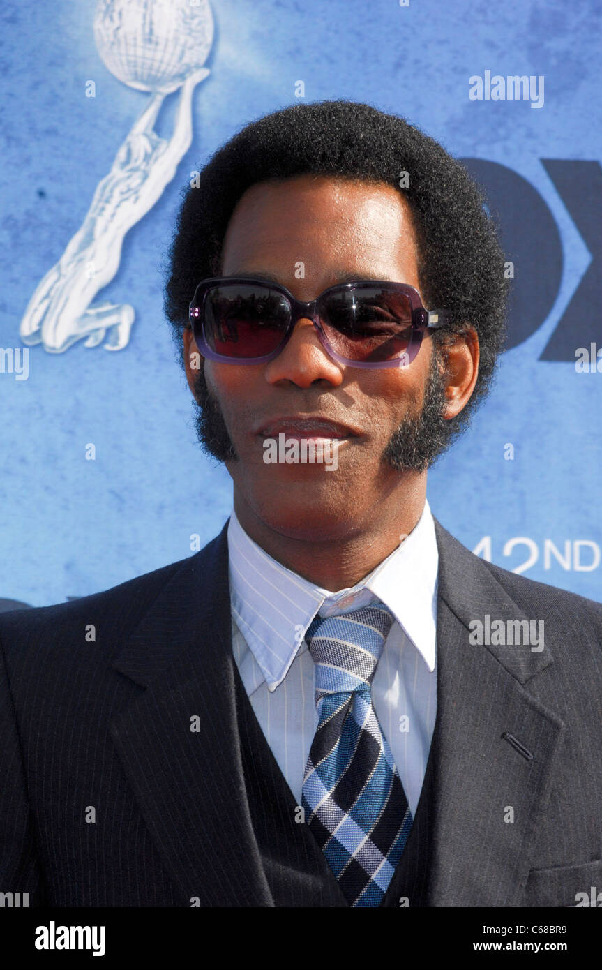 Lance Robertson at arrivals for 42nd NAACP Image Awards, Shrine Auditorium, Los Angeles, CA March 4, 2011. Photo - Stock Image