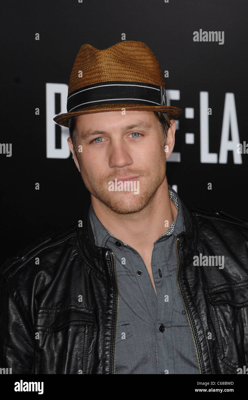 Ross Thomas at arrivals for BATTLE: LOS ANGELES Premiere, Regency Village Theater, Los Angeles, CA March 8, 2011. - Stock Image