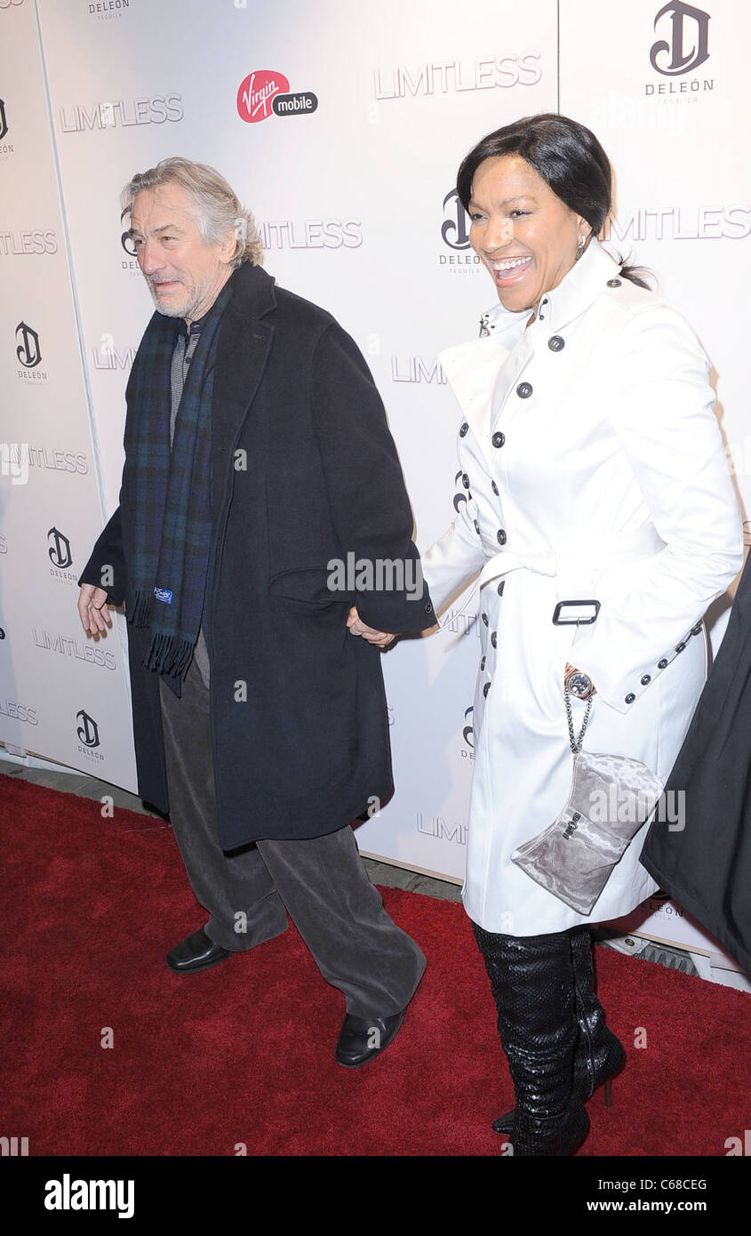 Robert De Niro at arrivals for LIMITLESS Premiere, Regal Union Square Stadium 14 Theater, New York, NY March 8, - Stock Image