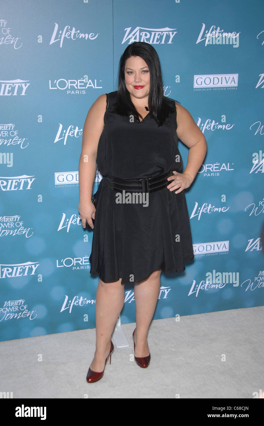 Brooke Elliott at arrivals for Variety's 2nd Annual Power of Women Luncheon, Beverly Hills Hotel, Beverly Hills, - Stock Image