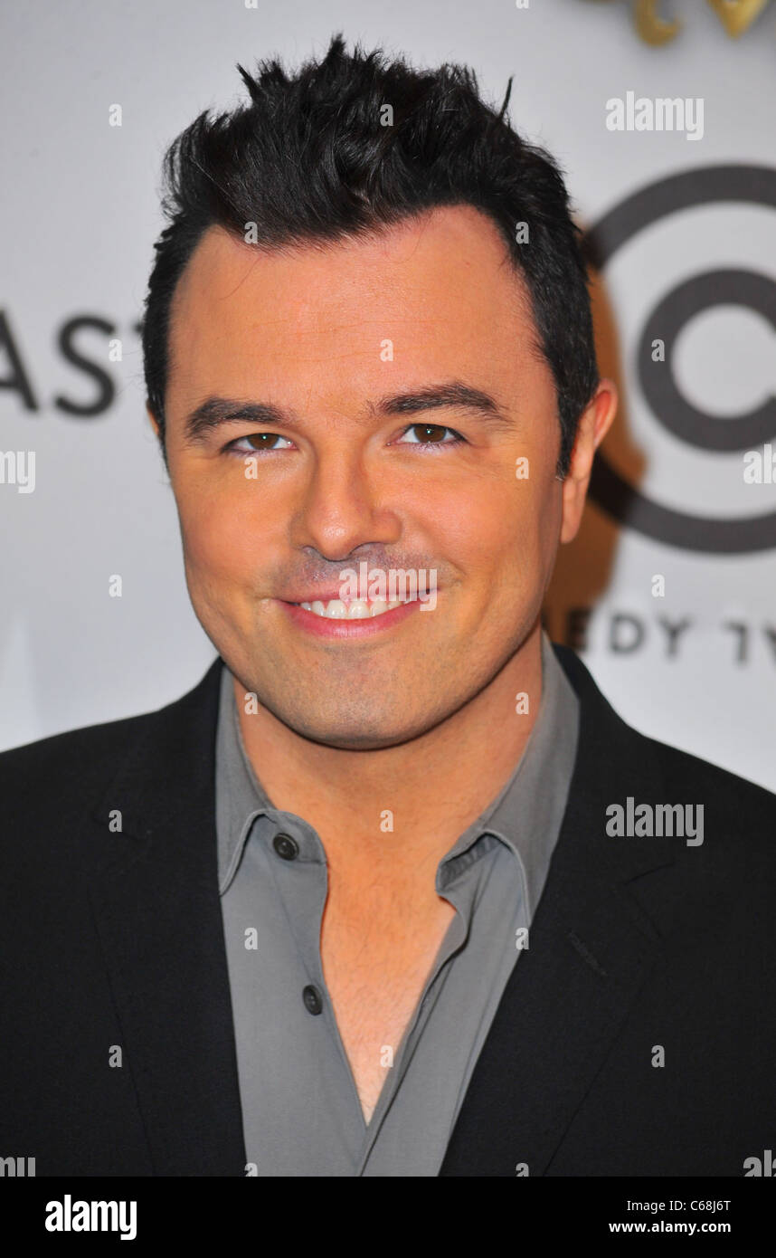 Seth MacFarlane at arrivals for Comedy Central Roast of Donald Trump, Hammerstein Ballroom, New York, NY March 9, - Stock Image