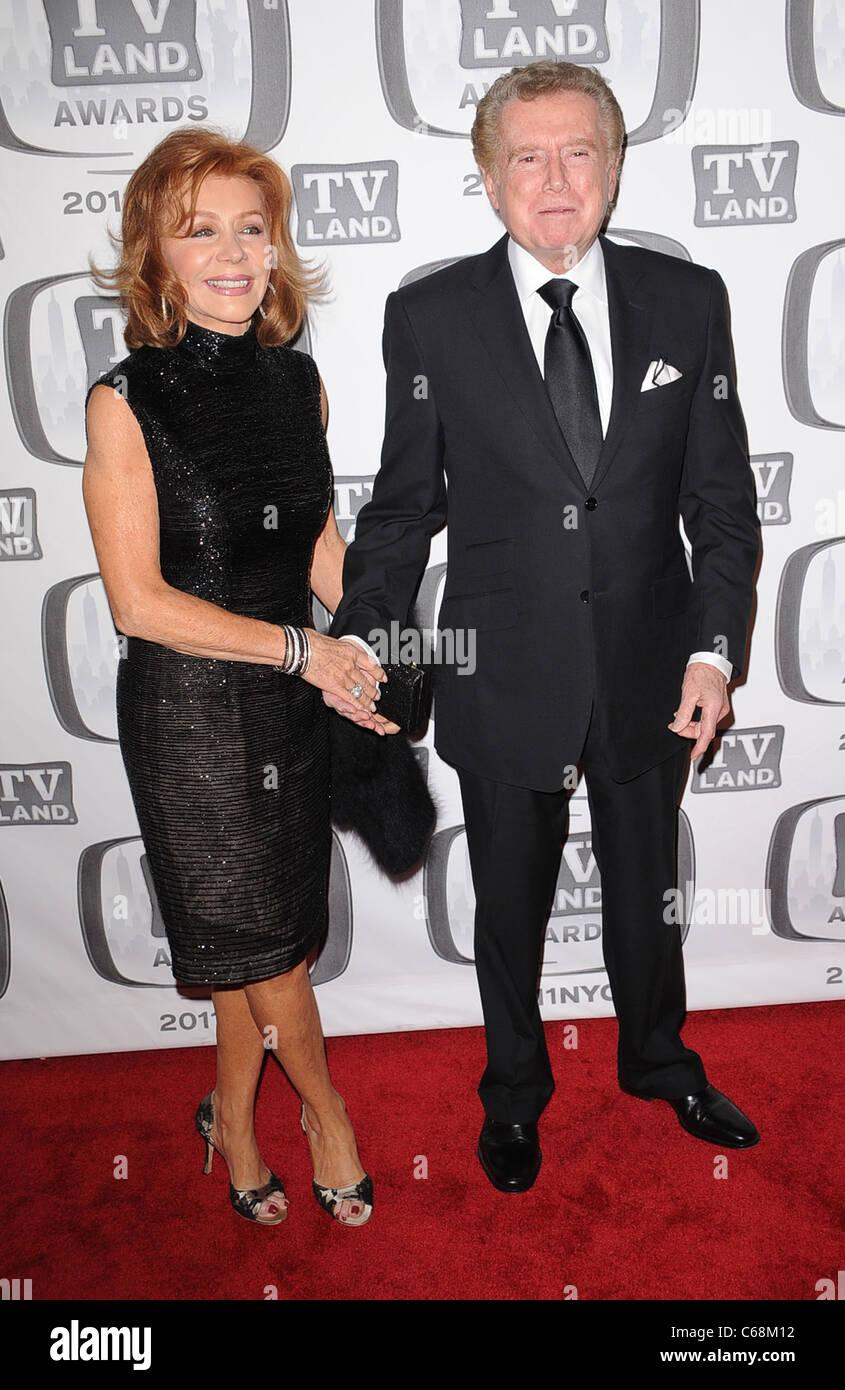 Joy Philbin, Regis Philbin in attendance for TV Land Awards 2011, Javits Center, New York, NY April 10, 2011. Photo - Stock Image