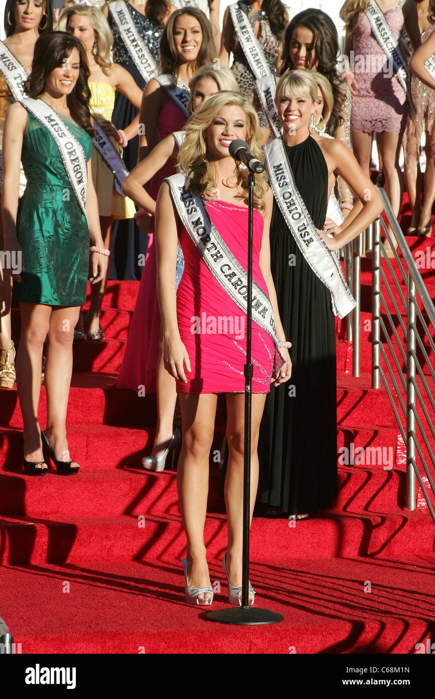 Miss North Carolina Usa Brittany York At Arrivals For