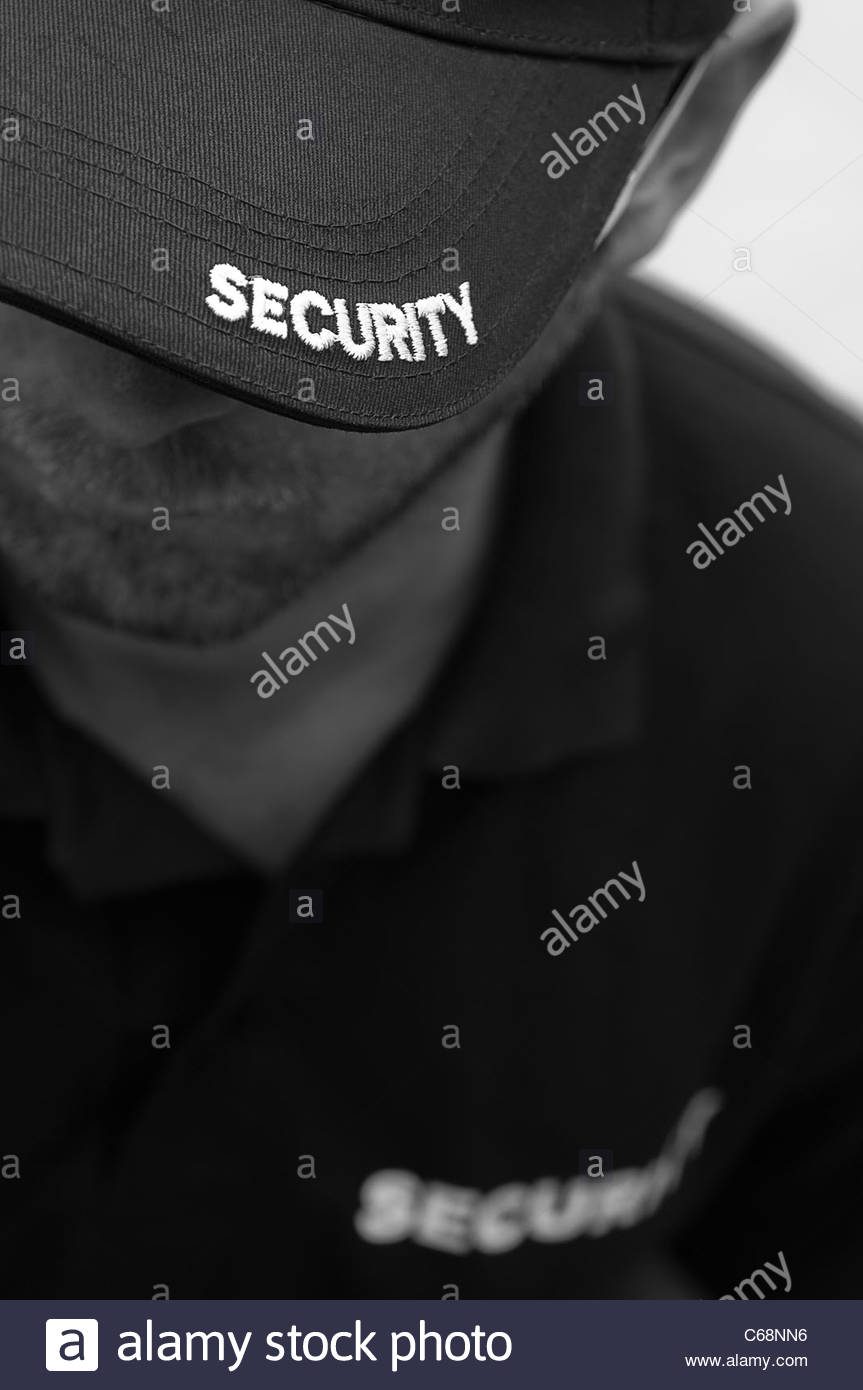 security guard - Stock Image