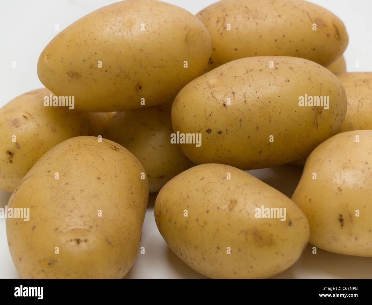 many potatoes - Stock Image