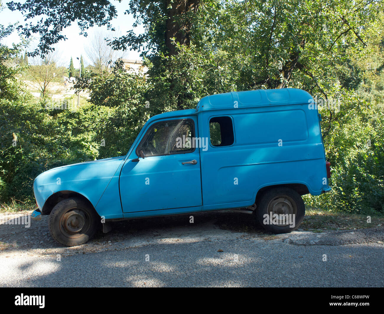 old renault van stock photos old renault van stock images alamy. Black Bedroom Furniture Sets. Home Design Ideas