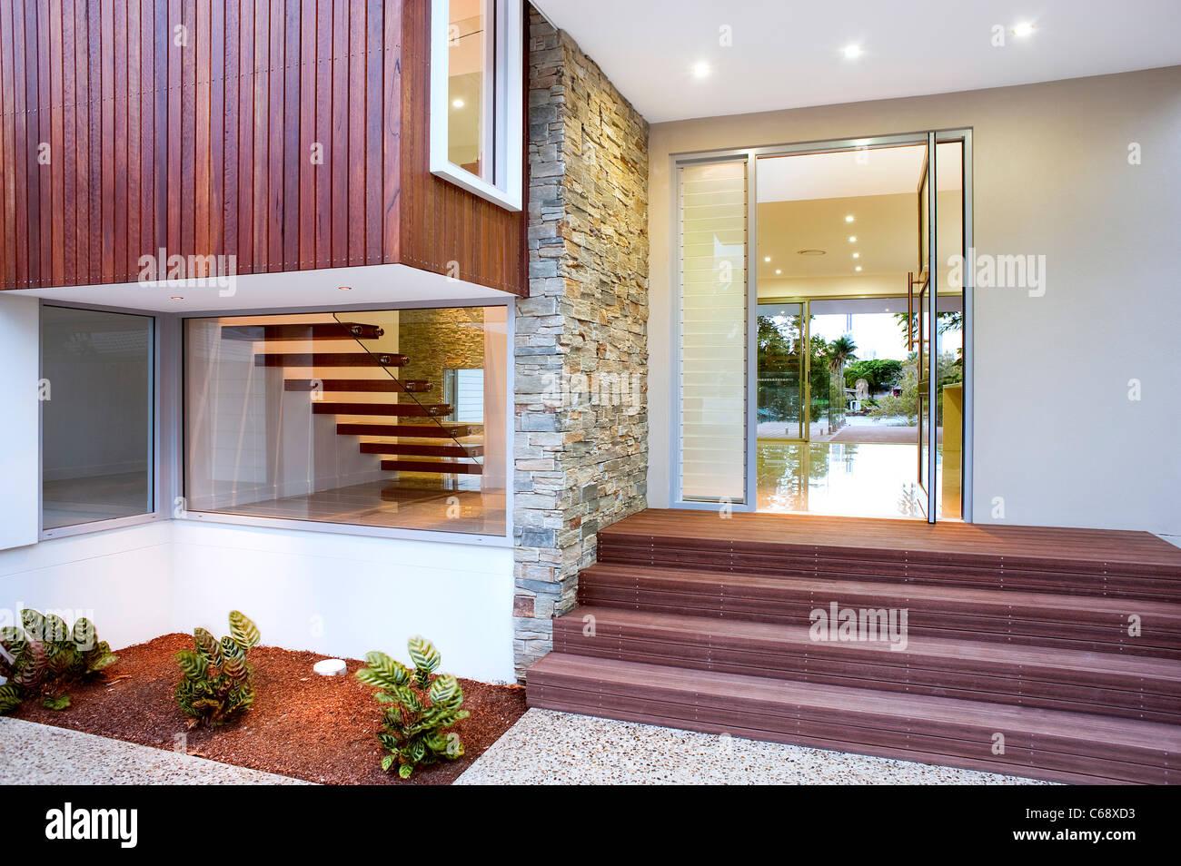 Modern home - Stock Image