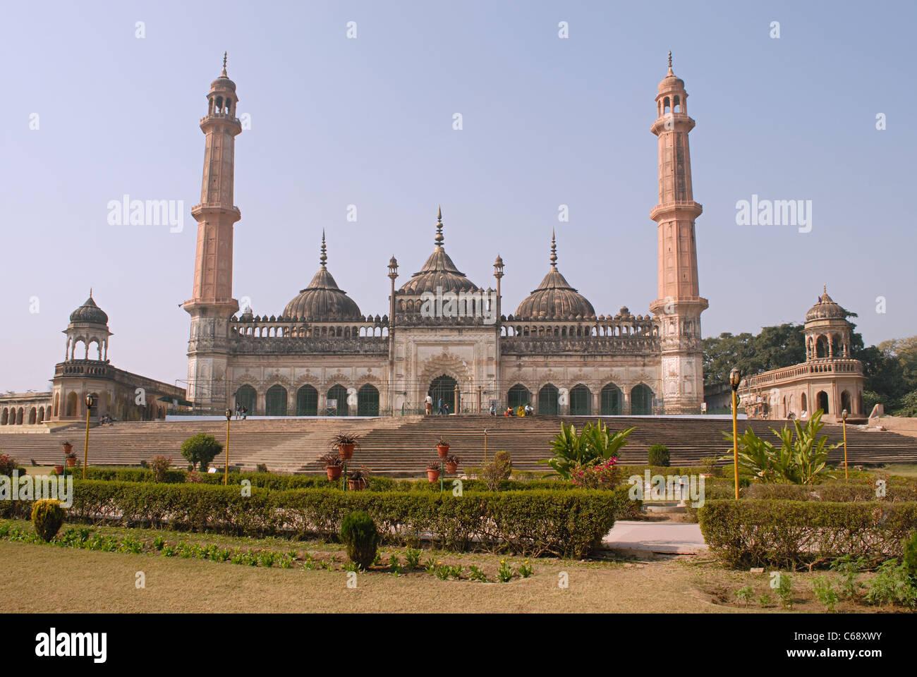 Asfi Masjid in Bara Imambara, Lucknow, Utter Pradesh, India - Stock Image