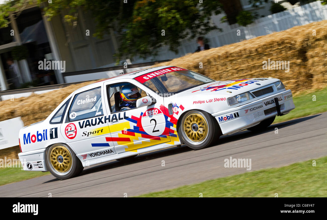 1990 Vauxhall Cavalier BTCC Touring Car With Driver James Pocklington At  The 2011 Goodwood Festival Of Speed, Sussex, UK.