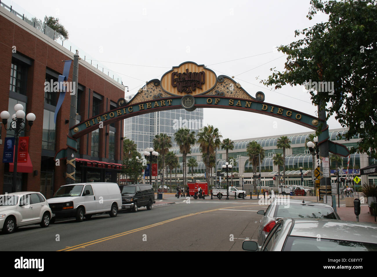 Wonderful SAN DIEGO CALIFORNIA USA GASLIGHT DISTRICT Great Pictures