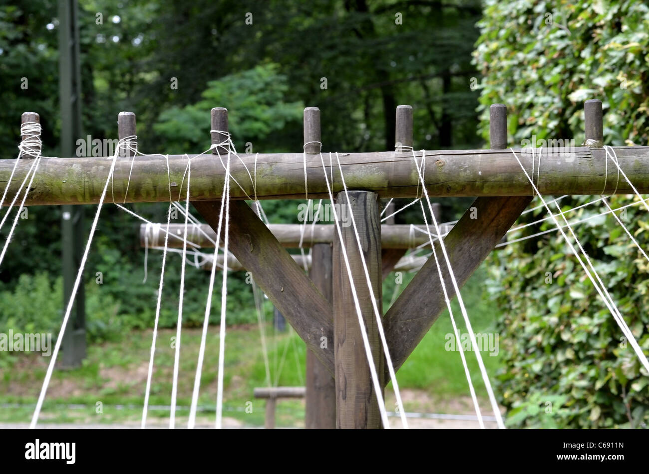 Open Air Museum, Threads - Stock Image