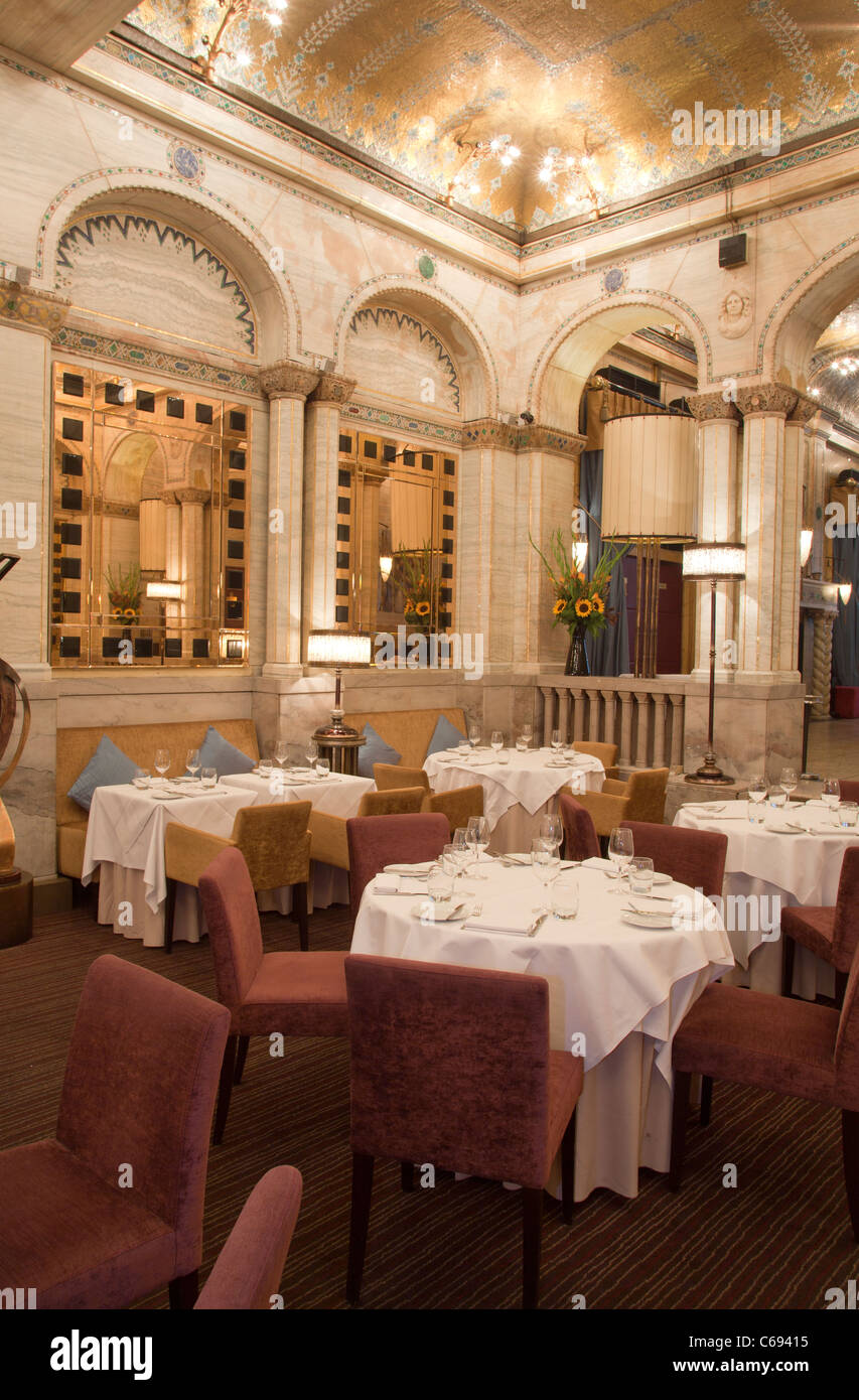 Criterion Restaurant Piccadilly Circus London - Stock Image