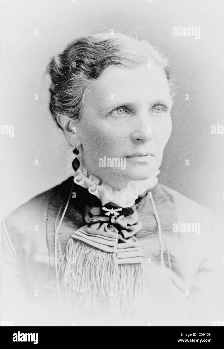 Emmeline B. Wells, women's rights advocate - Stock Image