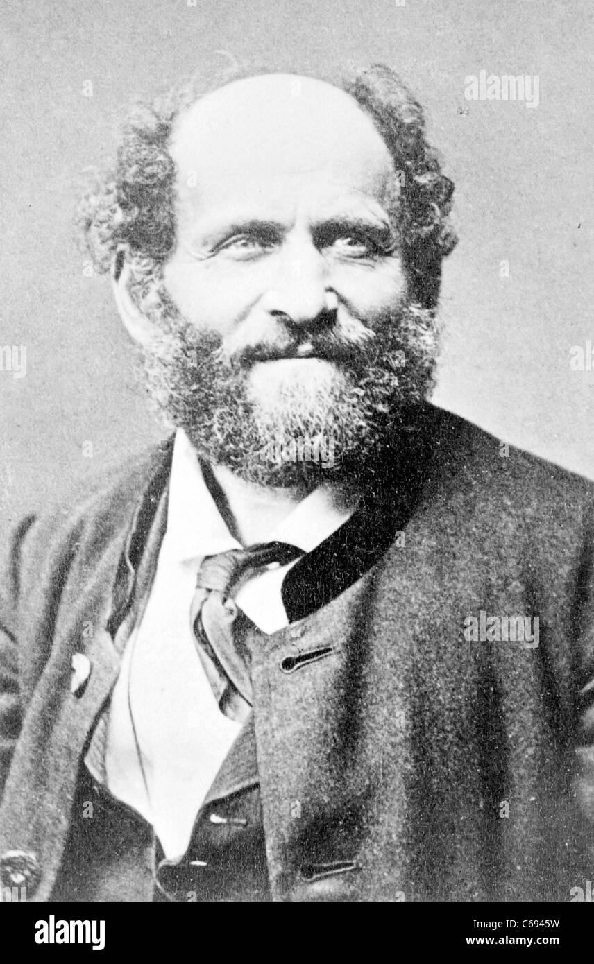 Friedrich Gerstäcker, German author - Stock Image