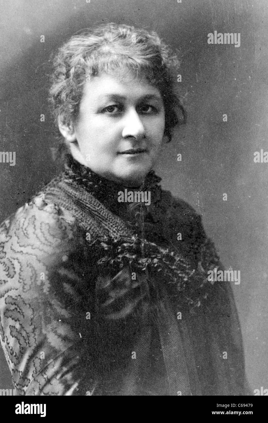 Helen von Forster, born Schmidmer was a German woman's rights activist and writer. - Stock Image