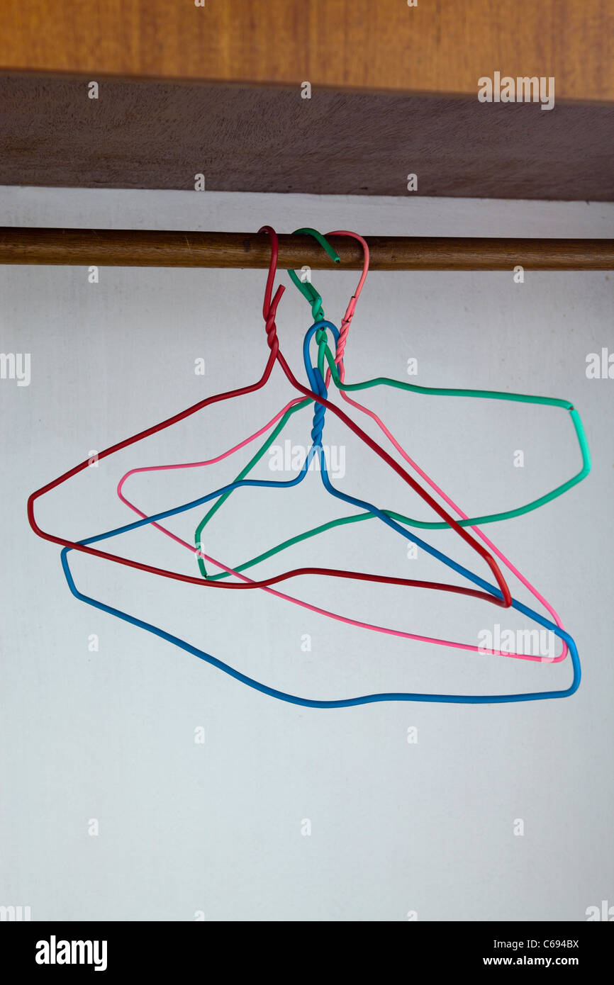 Bent Wire Hangers Stock Photos & Bent Wire Hangers Stock Images - Alamy
