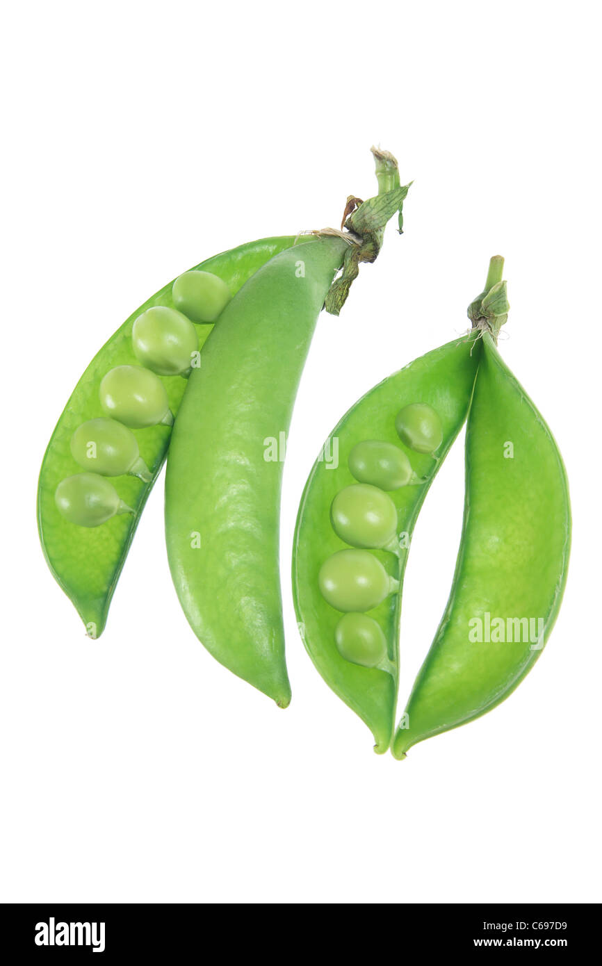 Sugar Snap Peas - Stock Image