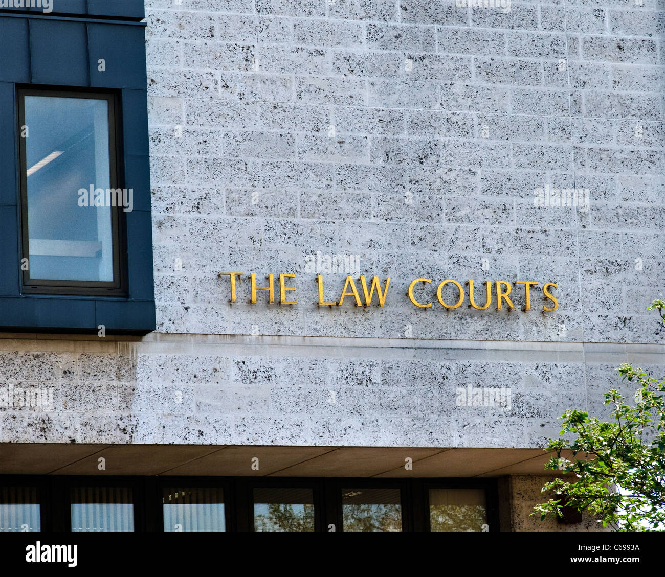 The Law Courts, Crown Court County Court Maidstone Kent - Stock Image