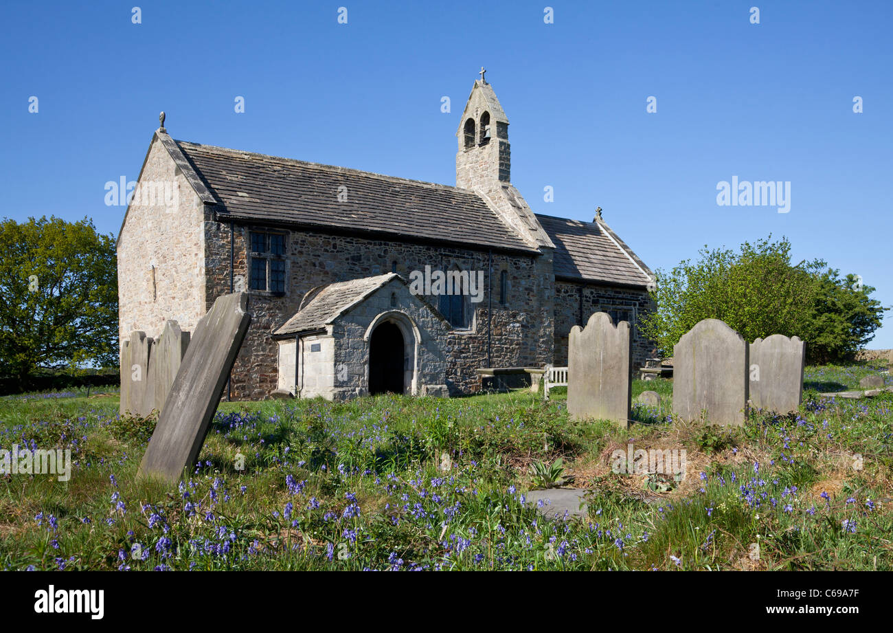 St Mary's Church, Stainburn is a redundant Anglican church in the village of Stainburn, North Yorkshire, UK - Stock Image
