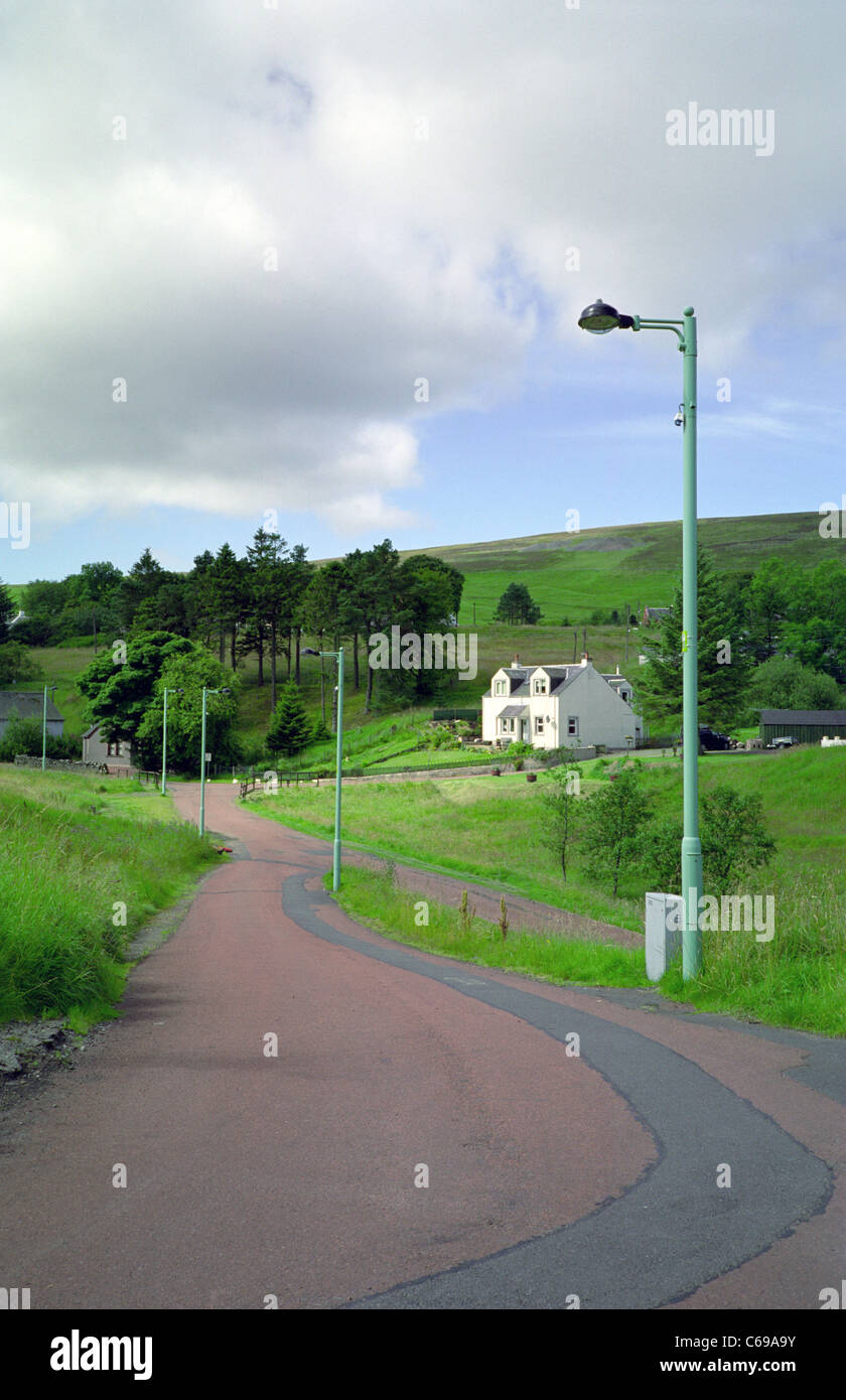 Leadhills Village, South Lanarkshire, Scotland, UK - Stock Image