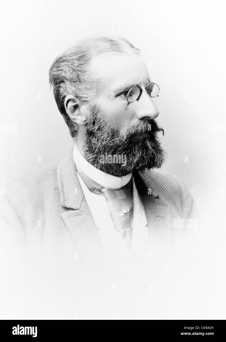 Gustaf Adolf Sellergren, Swedish engineer Stock Photo