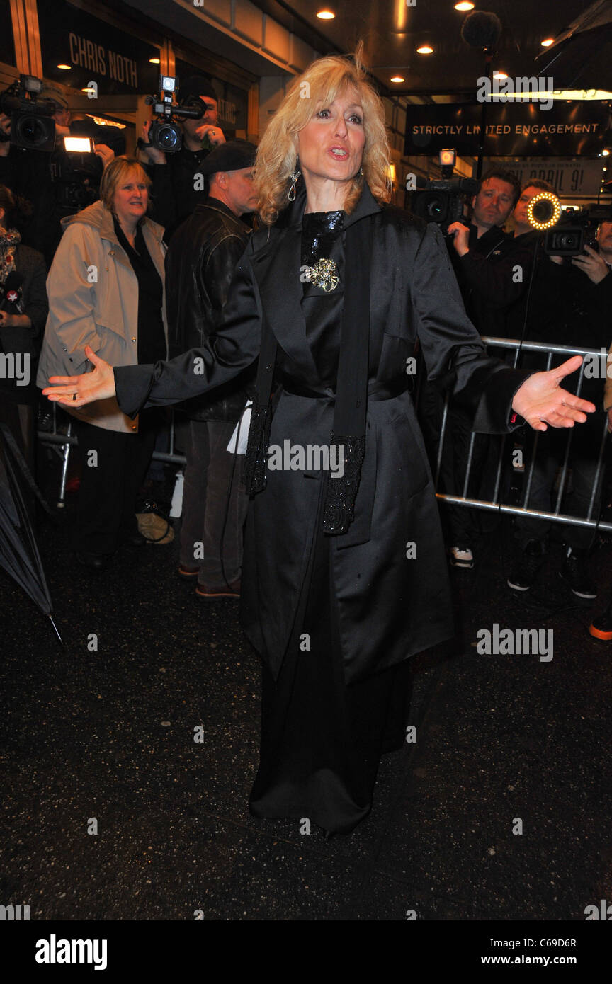 Judith Lite in attendance for THAT CHAMPIONSHIP SEASON Opening Night on Broadway, Bernard B. Jacobs Theatre, New - Stock Image