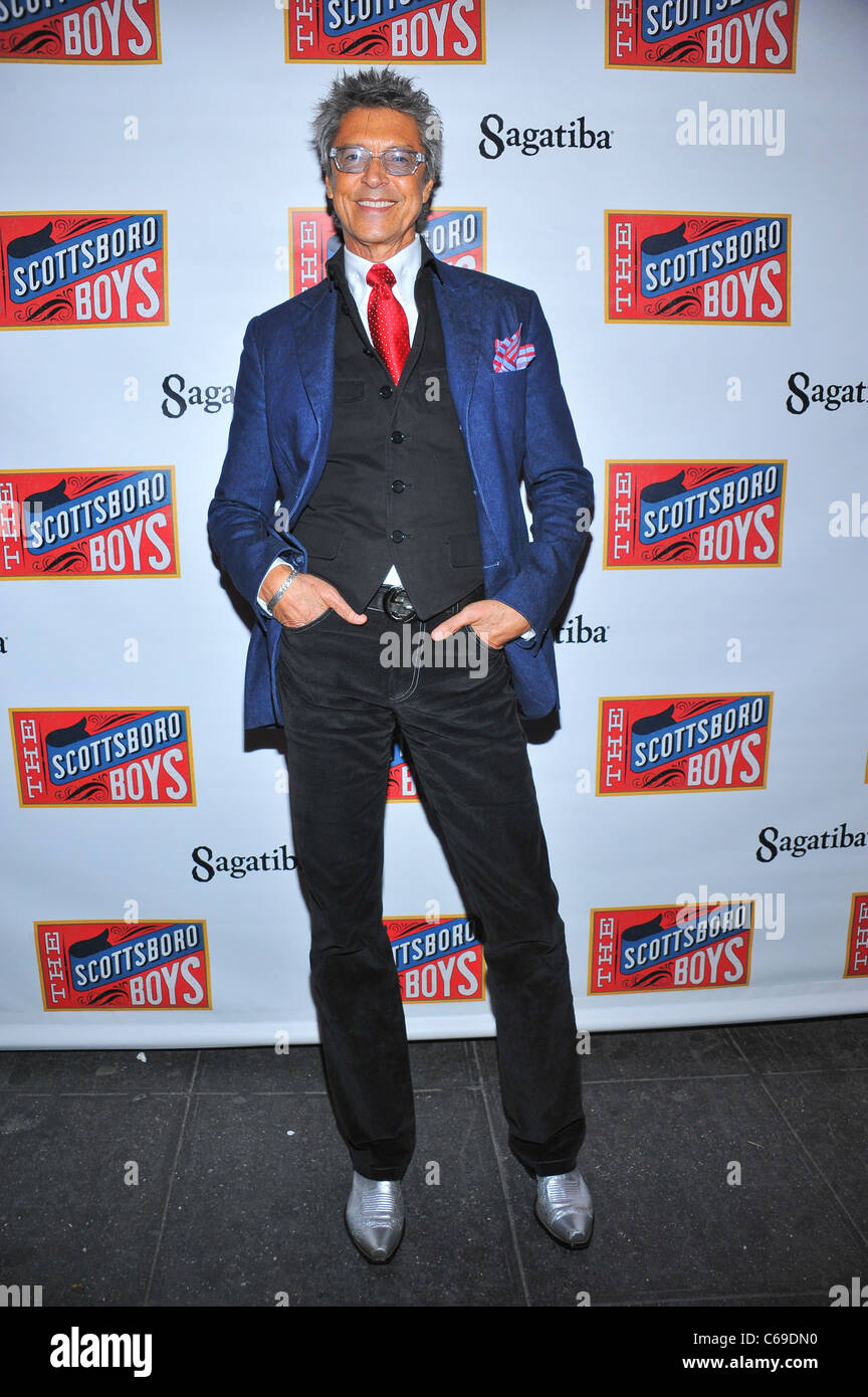 Tommy Tune in attendance for The Scottsboro Boys Opening Night on Broadway, Lyceum Theatre, New York, NY October - Stock Image