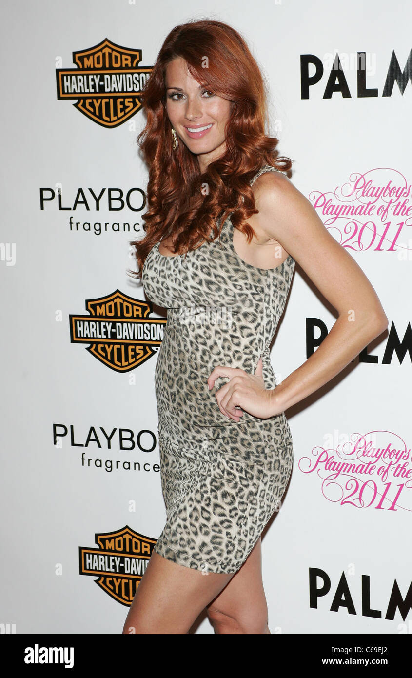 Jaime Faith Edmondson, Playboy Miss January 2010 at arrivals for Playmate of the Year Party at Moon Nightclub, Palms - Stock Image