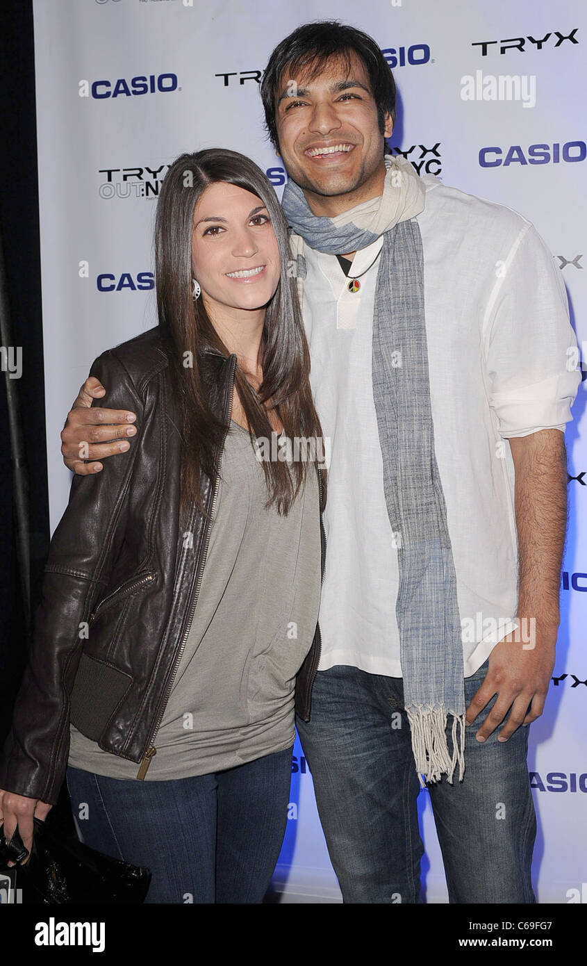 Arjun Gupta in attendance for Casio Tryx Camera Launch, Best Buy Theatre in Times Square, New York, NY April 7, - Stock Image