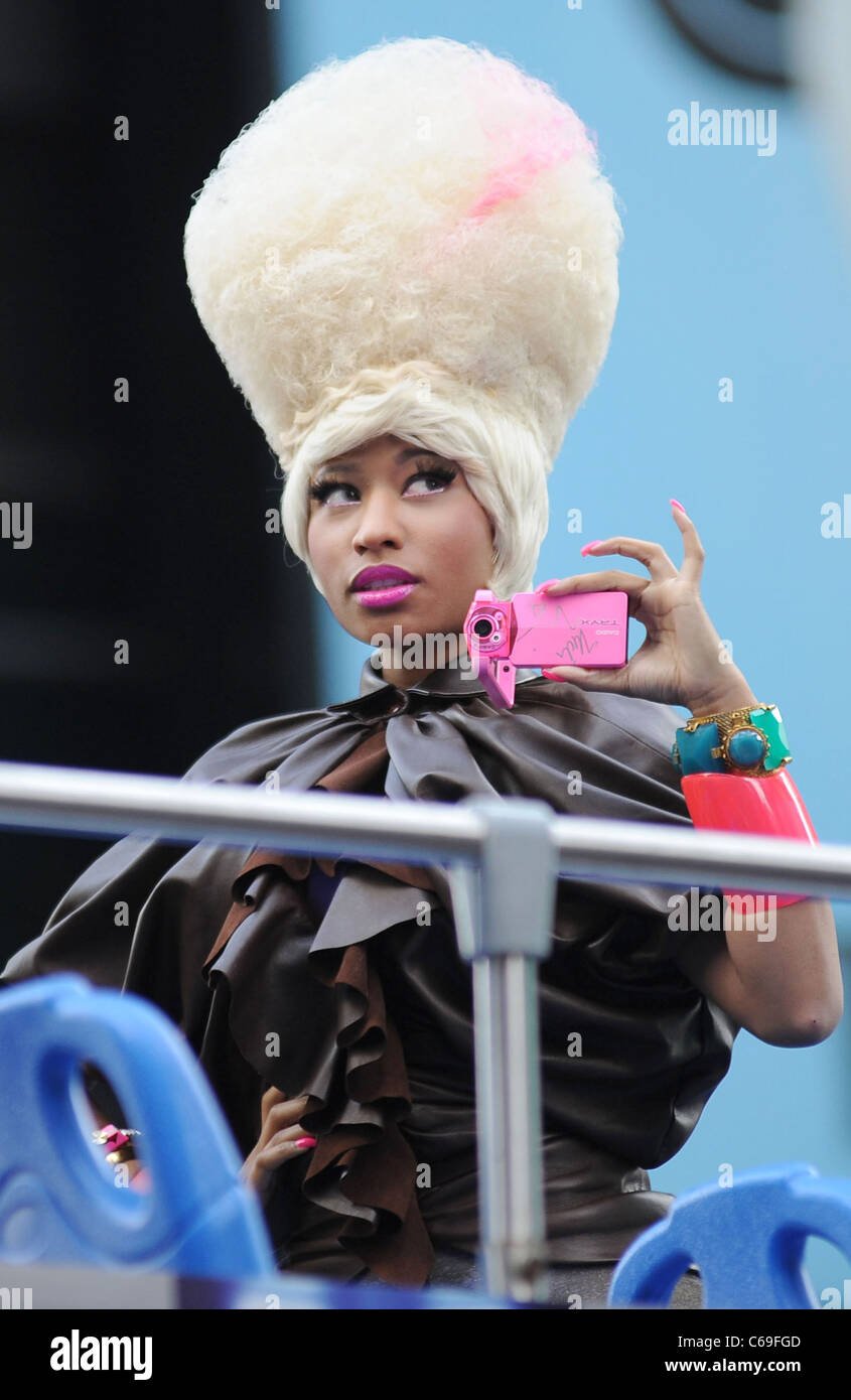 Nicki Minaj in attendance for Casio Tryx Camera Launch, Best Buy Theatre in Times Square, New York, NY April 7, - Stock Image