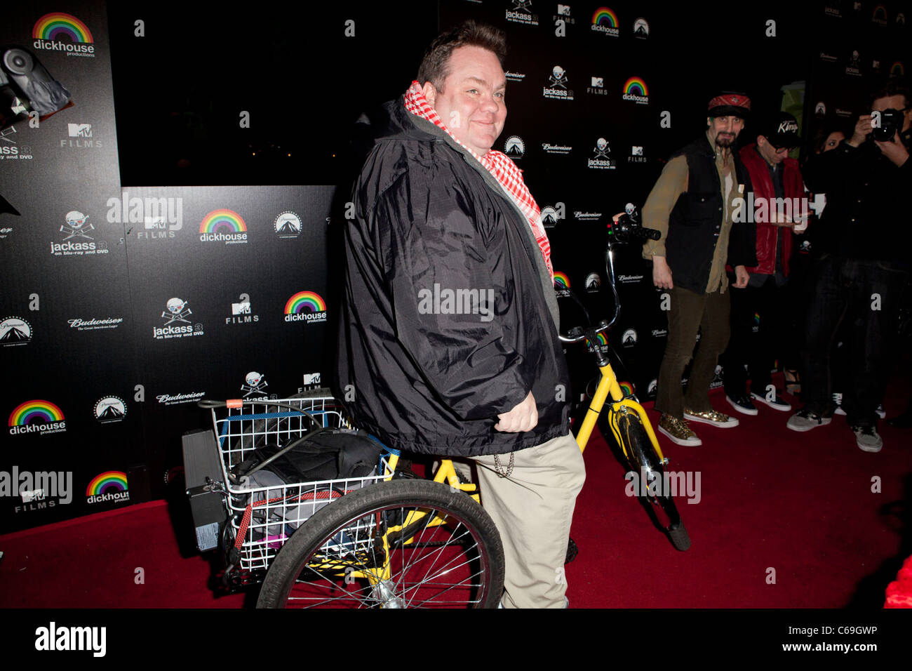Preston Lacy in attendance for JACKASS 3 Blu-Ray and DVD Debut Release, Paramount Studios, Los Angeles, CA March - Stock Image