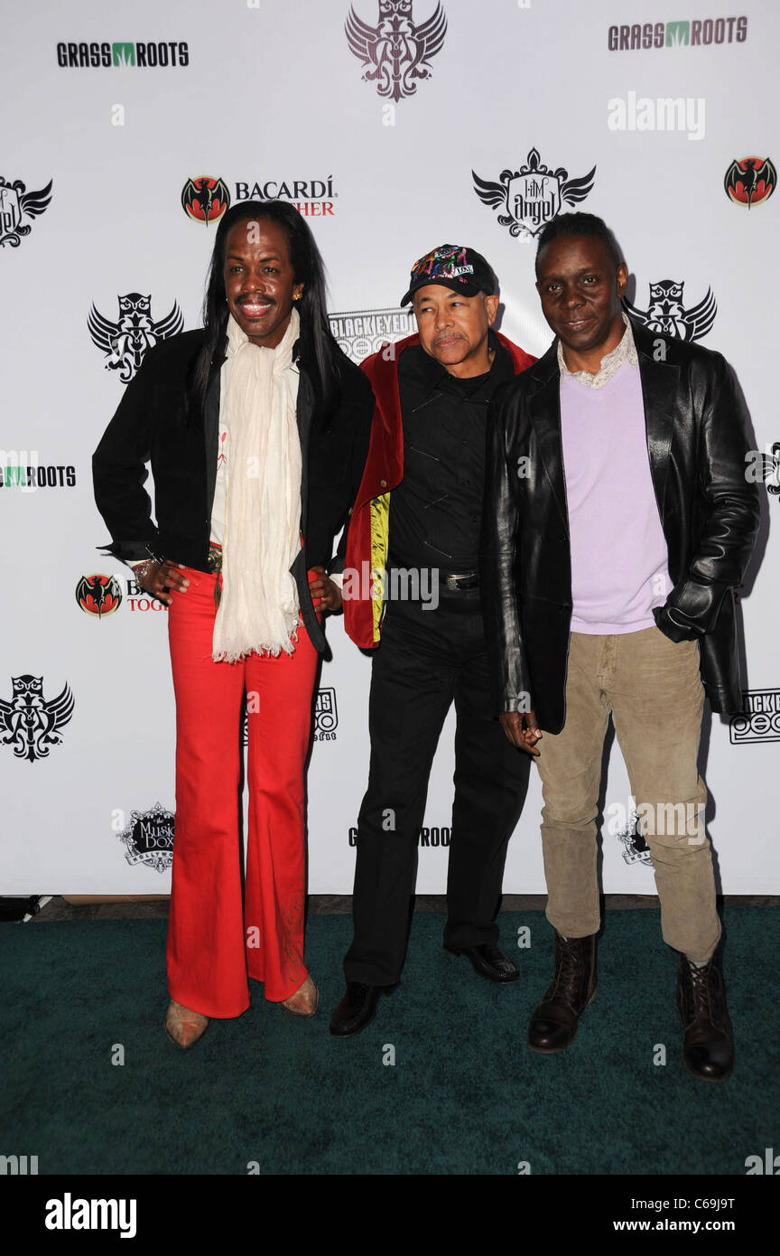 Earth Wind and Fire in attendance for The 7th Annual Peapod Benefit Concert, The Music Box, Los Angeles, CA February - Stock Image