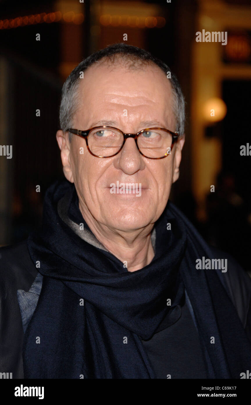 Geoffrey Rush at arrivals for Pirates of the Caribbean: On Stranger Tides Premiere, Disneyland, Anaheim, CA May - Stock Image